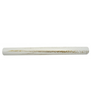 Barre blanc brossé 1m50 D19
