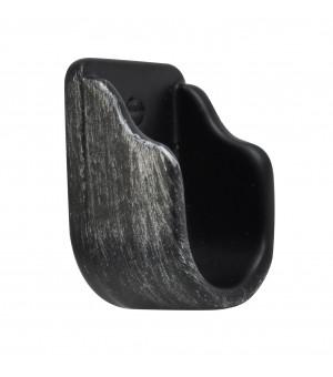 Naissance noir brossé argent D19