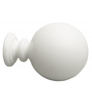 Embout Contemporain blanc D35