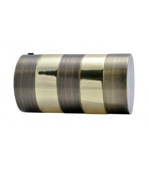 BAF21 Embout Cylindre bronze laitonné D28
