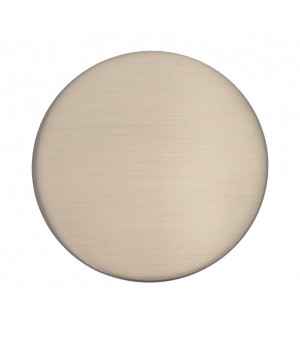 Embout Rond nickel mat D28