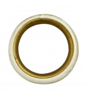 Anneau sable doré D28X39