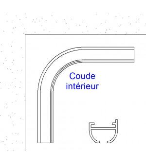 Coude intérieur à 90° blanc 22x18,2