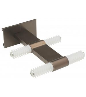 Support double milieu antic bronze 80-160mm D20/20