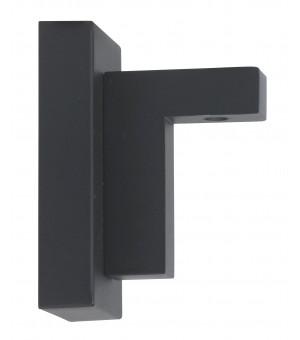 Naissance rail rectangulaire Aura noir matD33X11,5