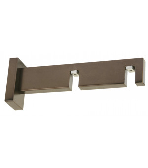 Support rectangle antic bronze 85-155mm D33X11,5