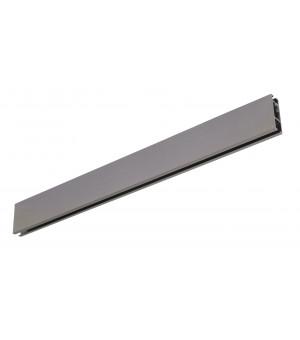 Rail Aura rectangle 33x11,5 argent vieilli 2m00