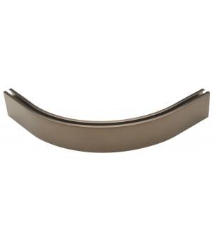 Coude équerre 90° rail 33x11,5  antic bronze
