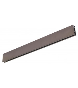 Rail Aura rectangle 33x11,5 antic bronze 2m00