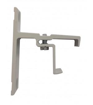 Support rail clipsable gris 40mm 24x16