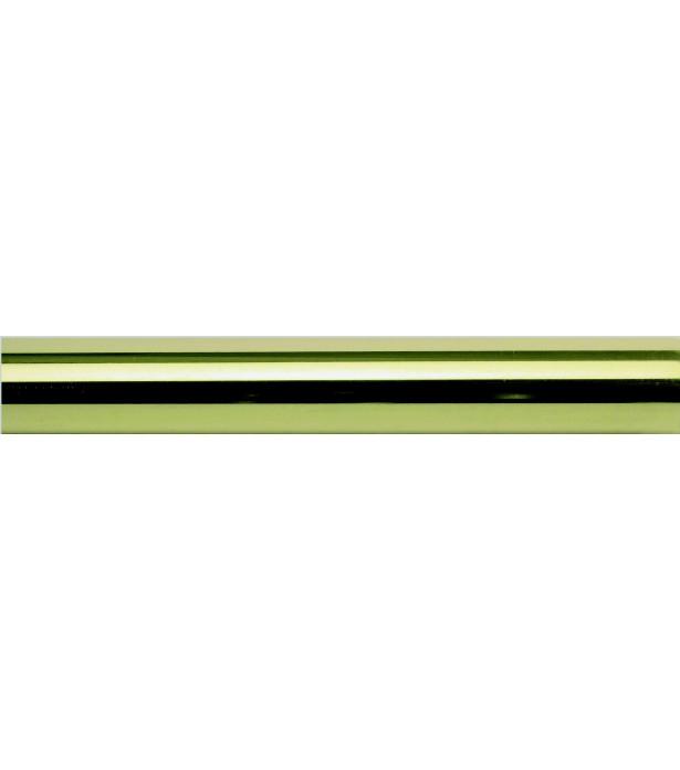 Barre laiton verni 150cm D20