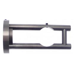 Barre Nickel mat 80cm D12.7