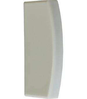 Embout Bouchon gris pour rail 25X10,5