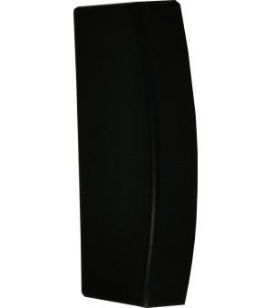 Embout Bouchon noir pour rail 25X10,5