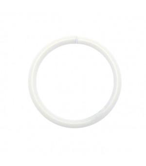 Lot de 10 anneaux blanc D38x38