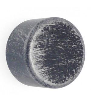Lot de 2 embouts Bouchon noir brossé D28