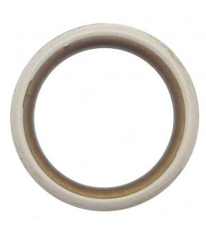 Lot de 10 anneaux sable doré D40x50