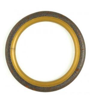 Lot de 10 anneaux rouille vieilli D40x50