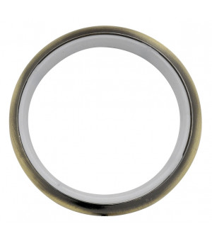 Lot de 10 anneaux bronze D30x38
