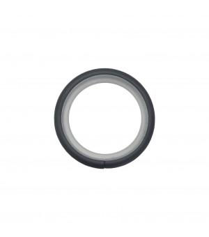 Lot de 10 anneaux noir mat D38x38