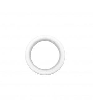 Lot de 10 anneaux blanc mat D30x38