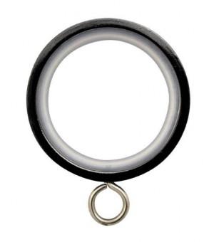 Lot de 10 anneaux-crochet nickel noir D30x40