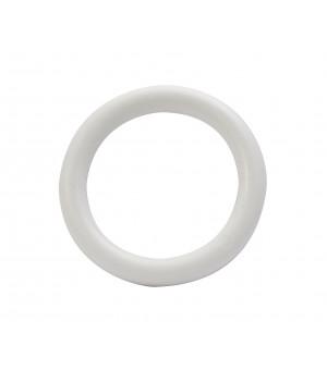 Lot de 10 anneaux blanc D50x70