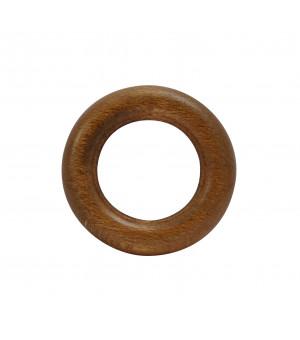 Lot de 10 anneaux chêne D24x40