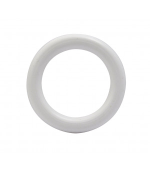 Lot de 10 anneaux blanc D28x42
