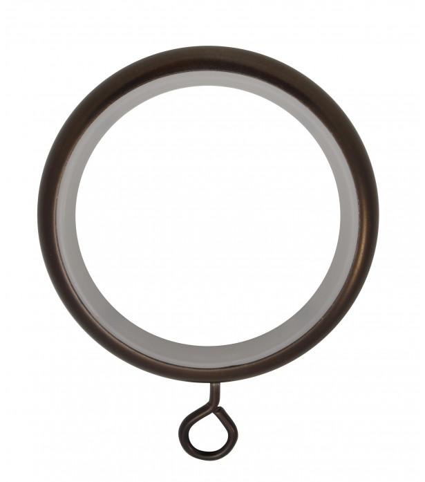 Lot de 8 anneaux crochet antic bronze D46x58