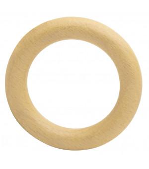 Lot de 10 anneaux naturel verni D38x55