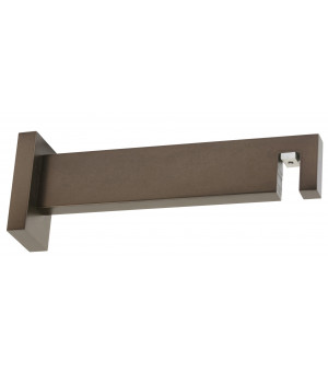 1 Support rectangle antic bronze 155mm D33X11,5