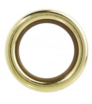 Lot de 8 anneaux laiton verni D41x55