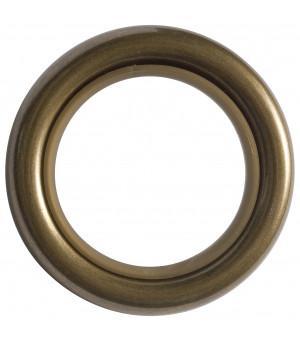 Lot de 8 anneaux laiton vieilli D41x55