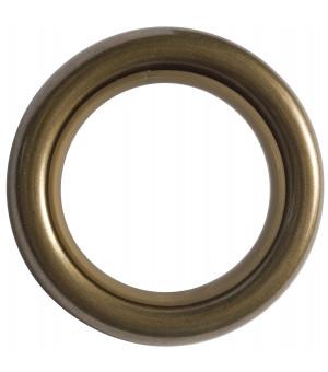 Lot de 8 anneaux laiton vieilli D28x39