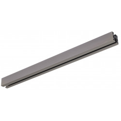 Support Aura plafond rail rectangle antic bronze