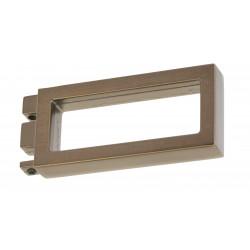 1 Tringle pression blanc mat 150-250 cm D20/17