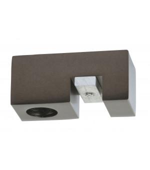1 Support Aura plafond rail 33x11,5 antic bronze