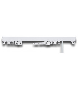 2supports coffre volet roulant nickel givre D28-20