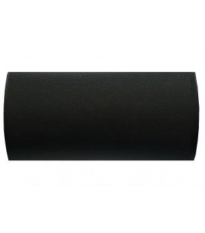 BAF21 1 Embout Cylindre noir grainé D28