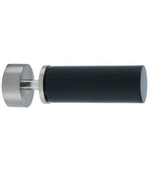 BAF21 1 Embout Cylindre nickel givré/noir D28