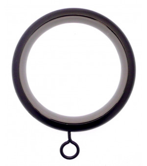 BAF21 Anneau-Crochet noir brillant D46X58