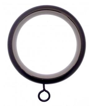 DESTOCK Anneau-Crochet noir brillant D46X58