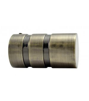 DESTOCK Embout Cylindre bronze D28