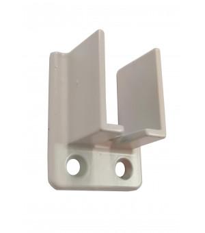 Support penderie décor laiton 60mm D16