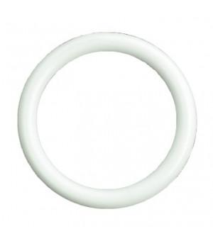Lot de 10 anneaux blanc D20x27