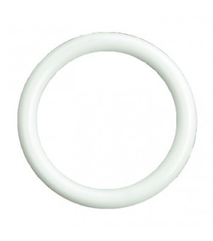 Lot de 10 anneaux blanc D30x39