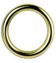 Lot de 10 anneaux laiton verni D26x35