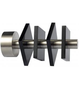 BAF21 Embout Quatro nickel mat noir D28
