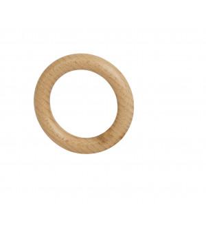 Lot de 10 anneaux naturel verni D26x42